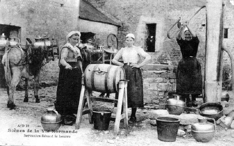 servantes-faisant-le-beurre