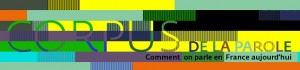 logo corpus de la parole